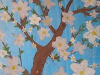 Весна. Цветущее дерево