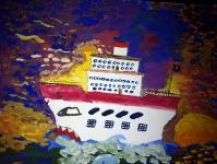 Пиратский корабль современности