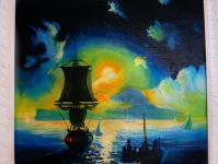 Ночь в гавани (без названия)