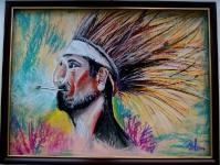 Портрет индейца