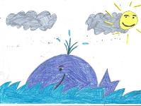 Радостный кит