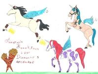 Весёлые лошадки