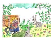 Кот и зайцы