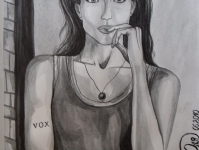 Портрет дівчини (без назви)