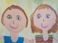 Портрет с другом