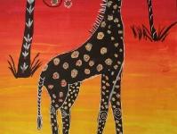 Гордый жираф