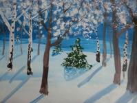 Зимовий ліс