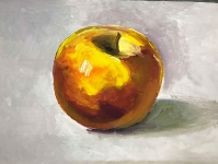 Жёлтое яблоко