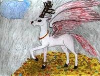 Перитон (крылатый олень)