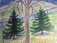 Осінь. Дерево