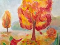 Осень возле речки